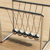 photo of Newton's Cradle http://www.sxc.hu/photo/1093404 by Sigurd Decroos http://www.cobrasoft.be/photography.aspx