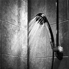 shower of pain